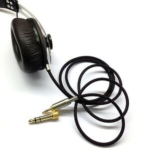 Replacement-Audio-upgrade-Cable-For-Sennheiser-Momentum-Over-On-Ear-Headphones