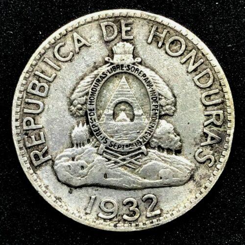 HONDURAS : 1932   50 Centavos - 0.900 SILVER RARE COIN  KM#74  Coin#1