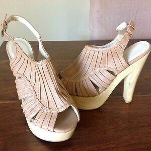MOOLOOLA Tan Stiletto...brand new...size 8 Denman Muswellbrook Area Preview