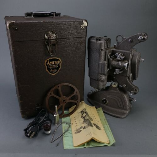Ampro A8 Precision Projector w/ Slow Motion & Still Features w/ Case 1940