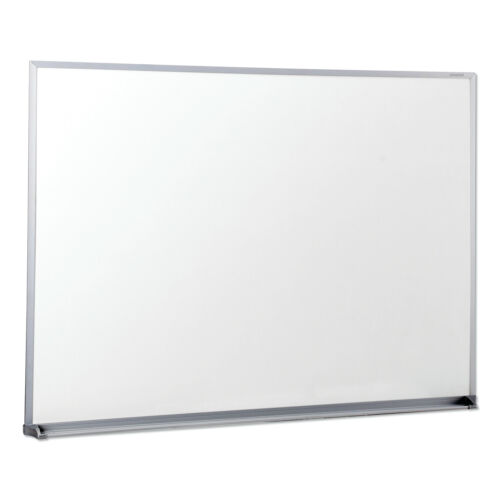"Dry Erase Office Large Wall Whiteboard Board Smooth, 48"" x 36"", Aluminum Frame"