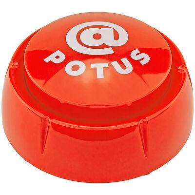 Donald Trump @POTUS Sound Button Desk Gag Novelty Joke White Elephant Gift Greeting Cards & Party Supply