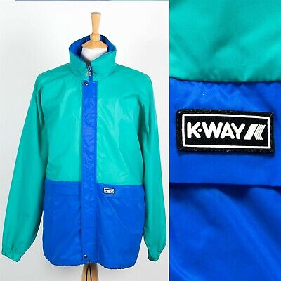 MENS K-WAY WATERPROOF CAGOULE RAIN JACKET SAILING OUTDOORS KAGOUL FESTIVAL XL