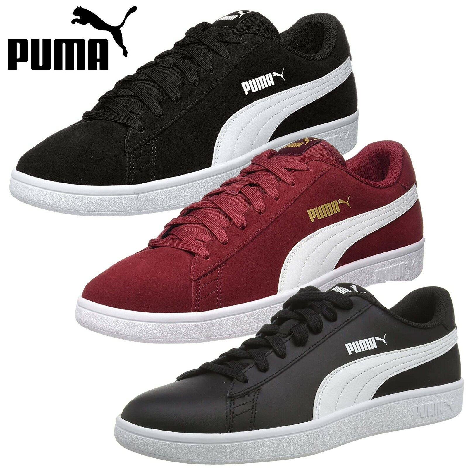 PUMA Smash V2 Leather Suede Men's