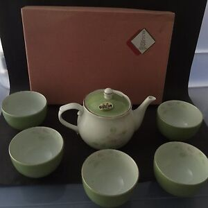 NEW Japanese Tea Set Teapot with Cups - boxed Daisy Hill Logan Area Preview