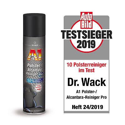Dr. Wack A1 Polster / Alcantara Reiniger Pro Polsterreiniger Stoffsitze / 400ml