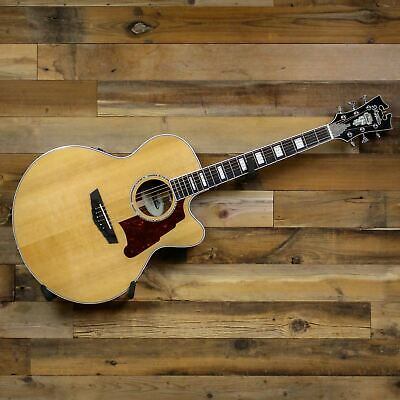 D'Angelico Premier Madison Cutaway Jumbo Body Acoustic-Electric Guitar U142097