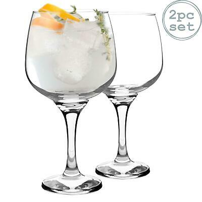 2pc Balloon Gin Glass Set Large Bowl Glass  730ml