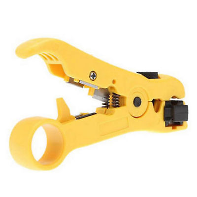 Rotary Coaxial Coax Cable Wire Cutter Stripping Rg59 Rg6 Rg7 Rg11 Stripper Tool