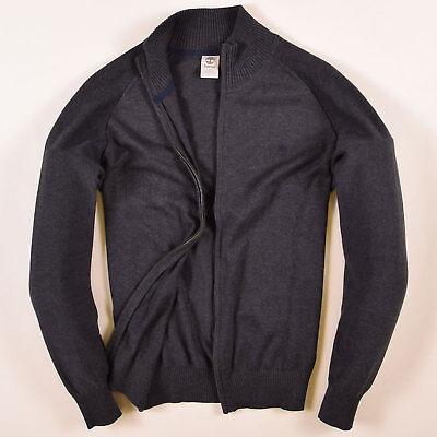 Timberland Herren Pullover Sweater Strick Gr.S Strickjacke Grau, 57697