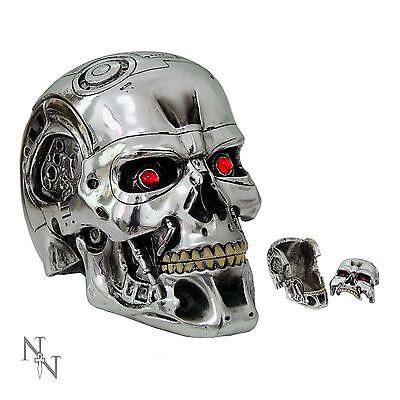 Terminator 2 T800 Head Box 12cm High Licensed Product