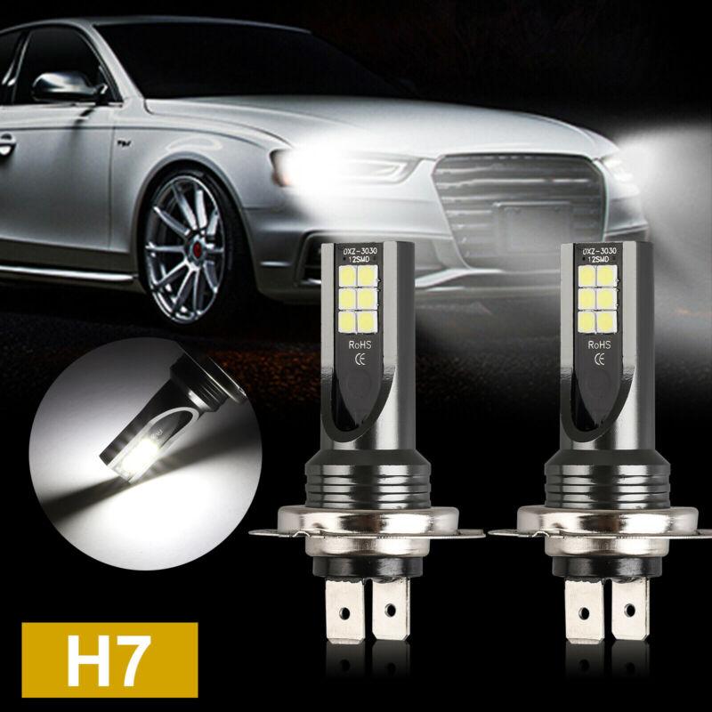 2x H7 LED Headlight Conversion 110W 30000LM 6000K Error Free Canbus Bulb Set Hot