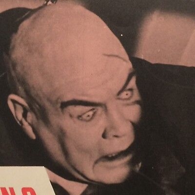 "TOR JOHNSON - PLAN 9 FROM OUTER SPACE LOBBY CARD (11"" X 14"")"