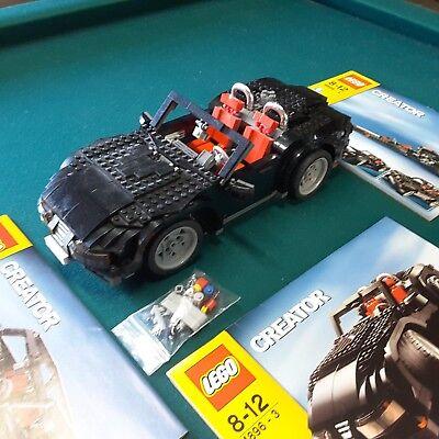 Lego Creator 4896 Roaring Roadster Jeep SUV Dragster Corvette Mazda sportster