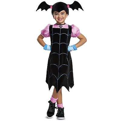 Girls Disney Vampirina Halloween Costume Dress Bat Cute Child Toddler XS - - Bat Costume Girls