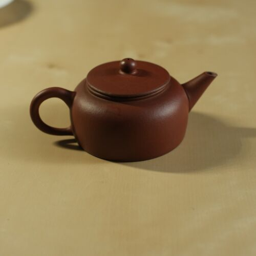 Yixing Chinese Teapot theepot, 90 ml cc ~ GREEN STICKER ~ 1980s FACTORY 1