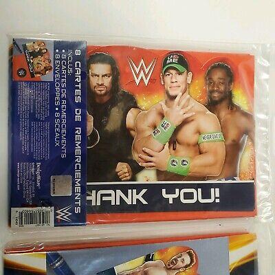 John Cena Party (24 WWE Thank You Cards, John Cena, Bachelorette Party, Christmas, Birthday)