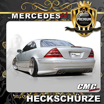 Heckstoßstange für Mercedes Benz Cl C215 AMG Black Series Stoßstange PDC +TÜV