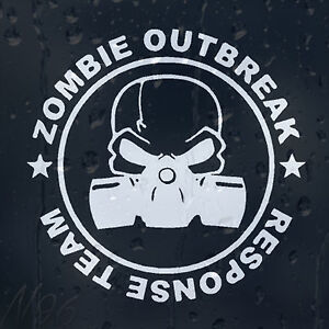 Zombie-Response-Outbreak-Team-Gas-Mask-Car-Laptop-Window-Decal-Vinyl-Sticker