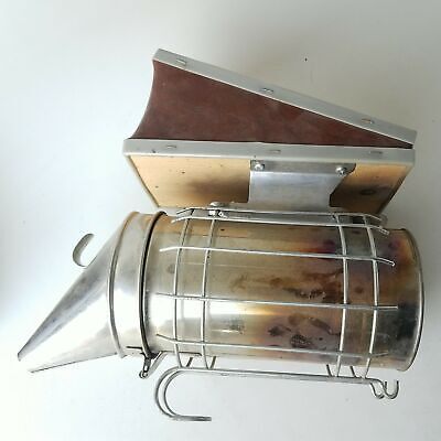 Bee Hive Apiary Smoker With Heat Shield Beekeeping Equipment Does Not Apply Doe