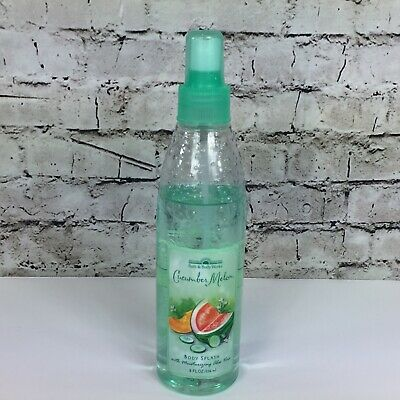 - Vintage Bath and Body Works Cucumber Melon Body Splash 8 fl oz 75% full works