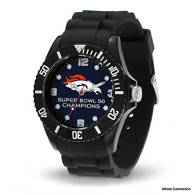 Denver Broncos Super Bowl 50 Sports Watch By Sparo Officially Lic Nfl Football