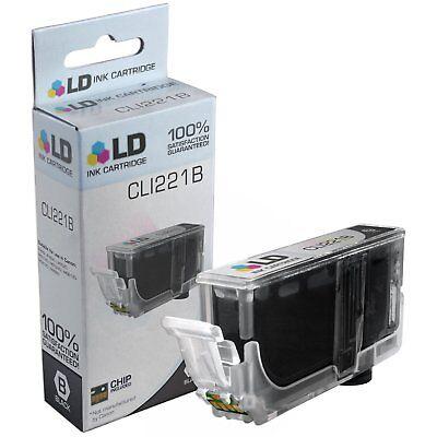 LD 2946B001 CLI221B CLI221 Black Ink Cartridge for Canon Printer