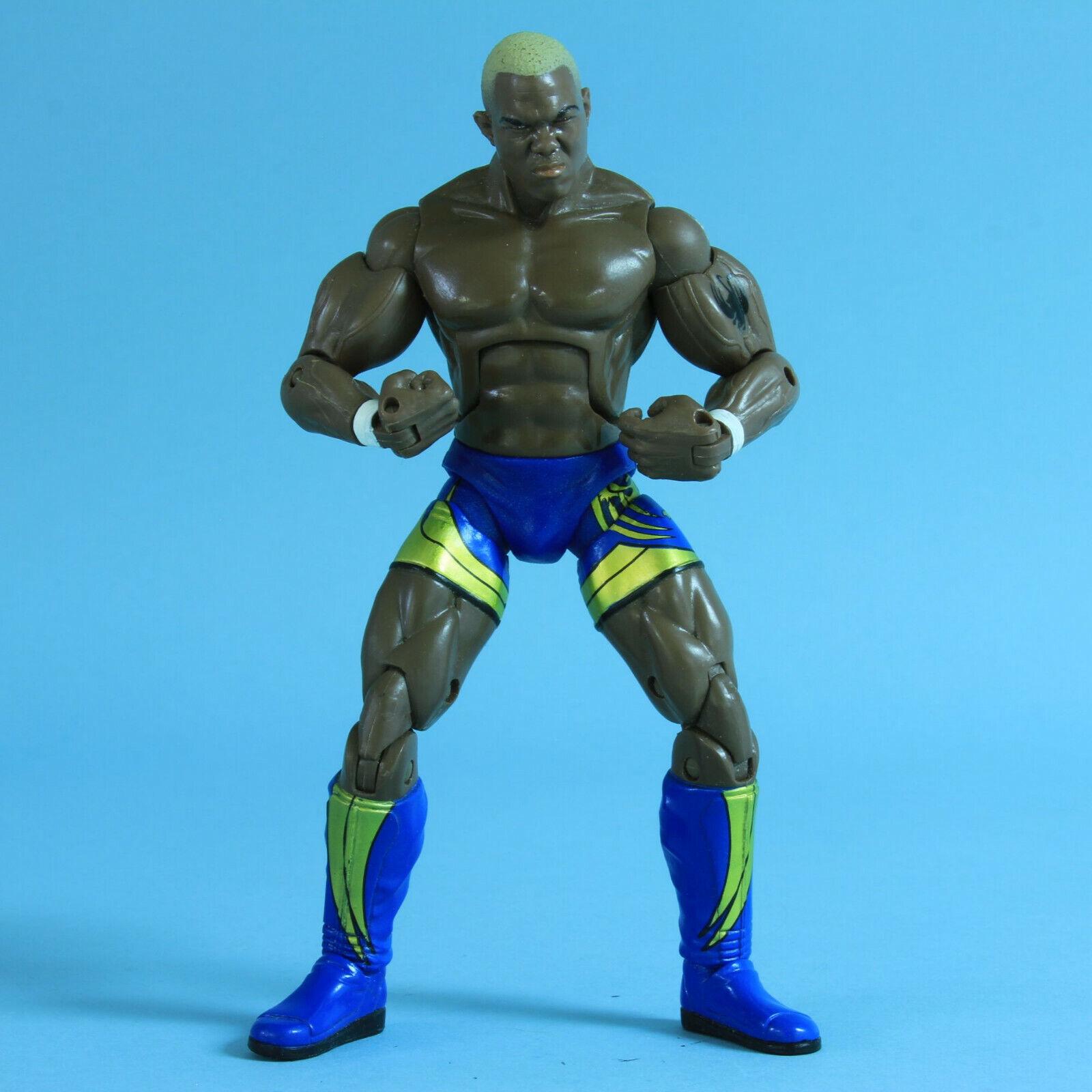Shelton Benjamin-Ruthless agresión ra-WWE Jakks Lucha Libre Figura