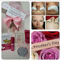 Mother's day gift package with eyelash extensions and products.