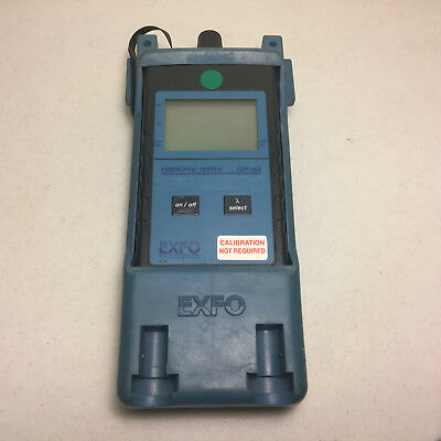 Exfo Fot-10a Fot-12ax Fiberoptic Tester Optical Power Meter