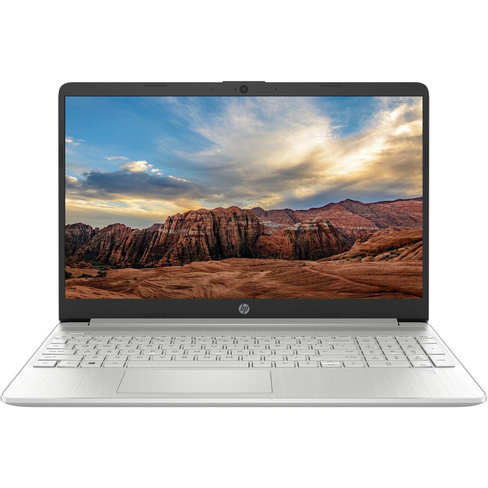 Laptop Windows - NEW HP 15.6 HD Intel i3-1005G1 3.4GHz 256GB SSD 8GB RAM Webcam+Mic Windows 10