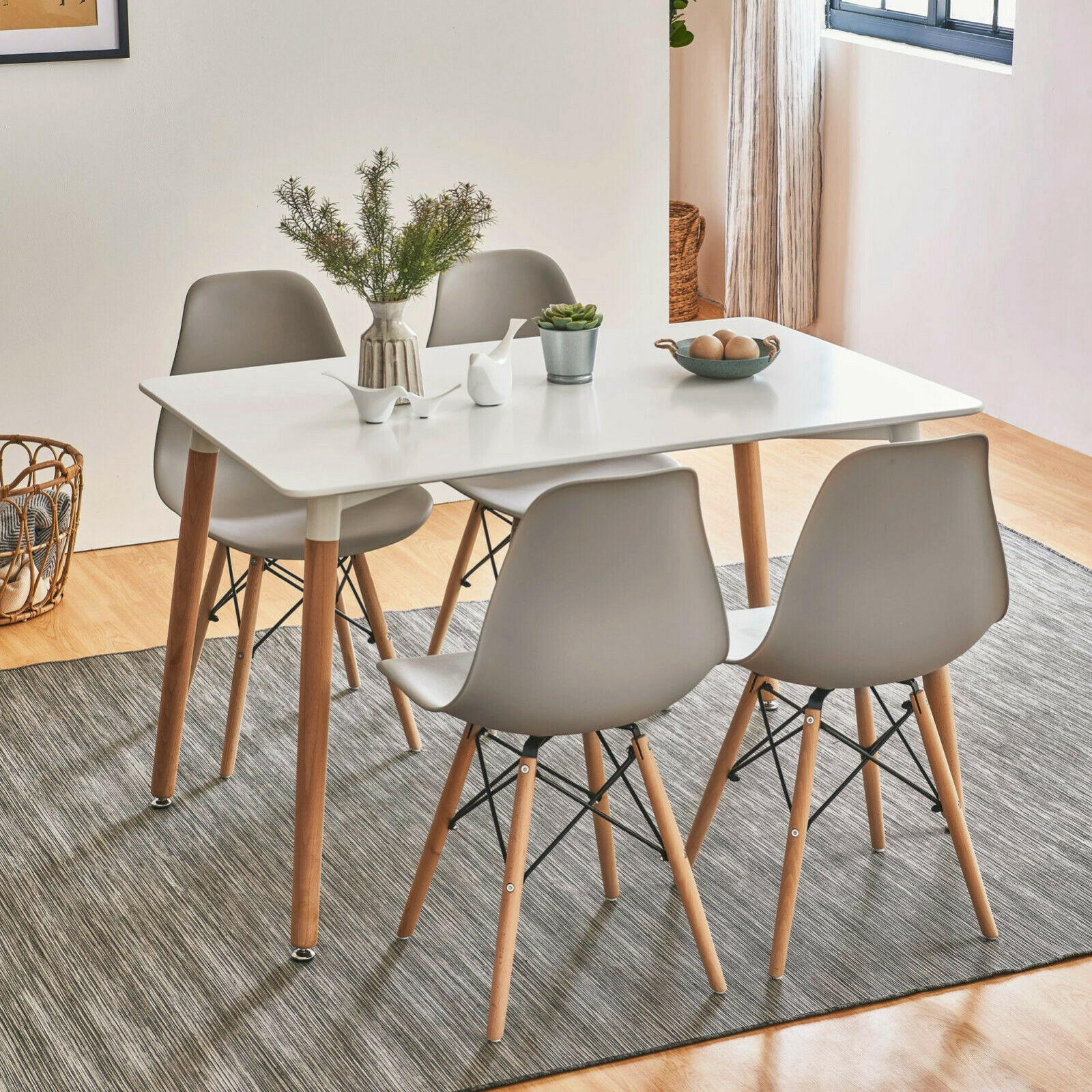 Cucina Letters Kitchen Decor, Corona 6ft Dining Set Table With 6 Chairs For Sale Ebay