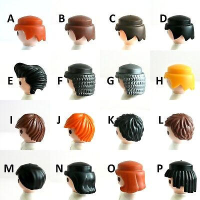 Playmobil HAIR WIGS Ad #3 MEN'S Chainmail Elvis Indian Pageboy Modern Style B37 (Kids Elvis Wig)