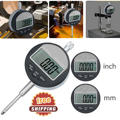 Digital Dial Indicator Probe 0.01mm.0005 Range 0-25.4mm1 Gauge Precision