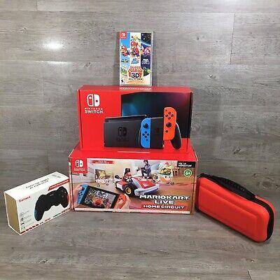 Nintendo Switch Console Super MarioKart Live Home Circuit 3D All Stars FAST SHIP