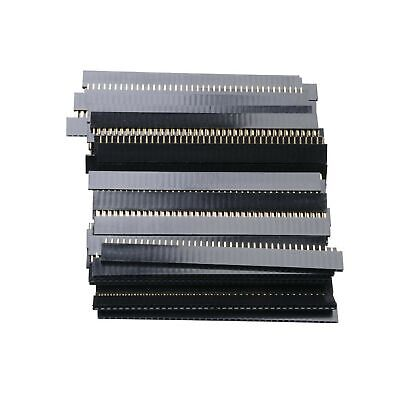 60pcs 40 Pin 2.54mm Single Row Straight Female Pcb Header Connector Strip For Ar