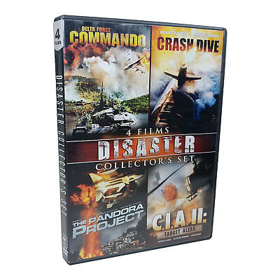 Disaster 4 Film Collector's Set DVD (2009) Very Good Condition TESTED