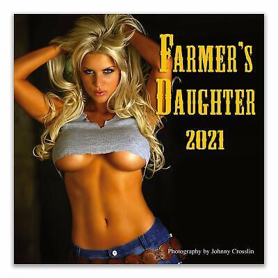 FARMER'S DAUGHTER- 2021 WALL CALENDAR - BRAND NEW - 85478
