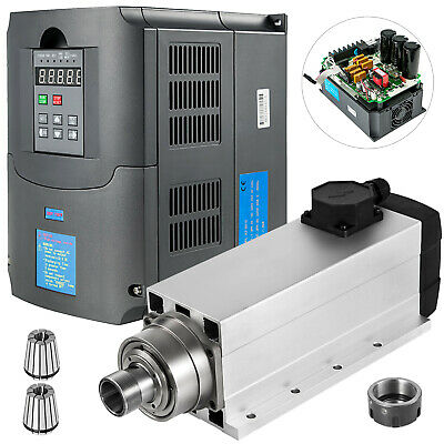 7.5kw Er32 Air Cooled Spindle Motor 7.5kw Variable Frequency Drive Inverter Vfd