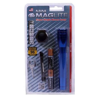 Maglite M2a11c Mini Maglite Aa Combo Pack Blister Blue