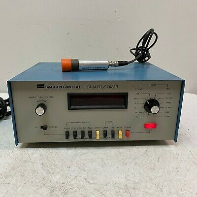 Sargent Welch Scientific Company Scaler And Timer Tested And Working