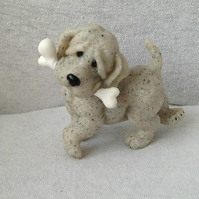 Quarry Critters Pirate...Dog Figurine.