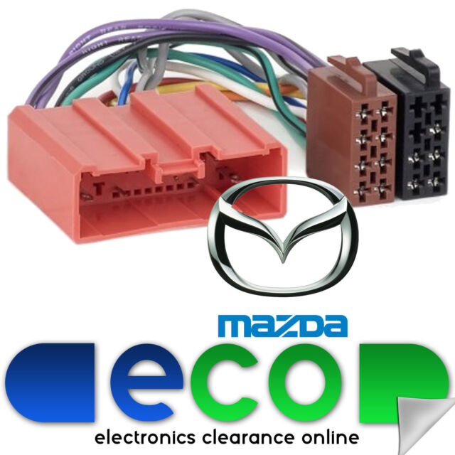 Autoleads PC2-78-4  Mazda 6 2002 Onwards Car Stereo ISO Harness Adaptor Lead