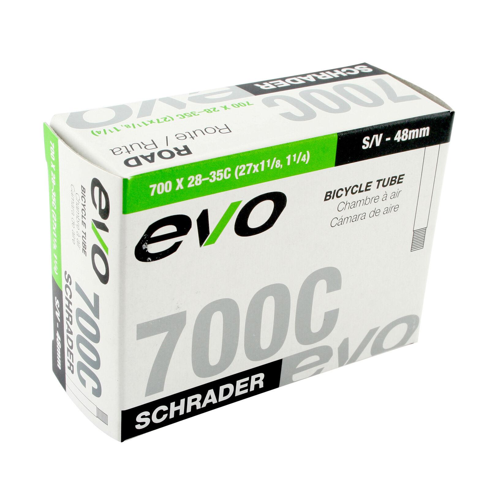 700x18-25C//27x1-48mm Presta Valve EVO Bicycle Tube