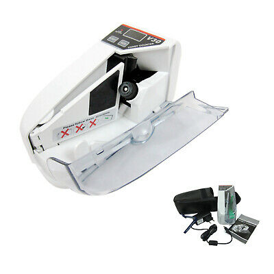 Portable Bill Counter Money Counting Machine Cash Currency Banknote Us Adapter
