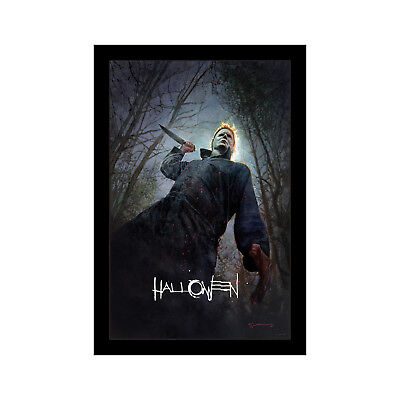 HALLOWEEN - 11x17 Framed Movie Poster by Wallspace