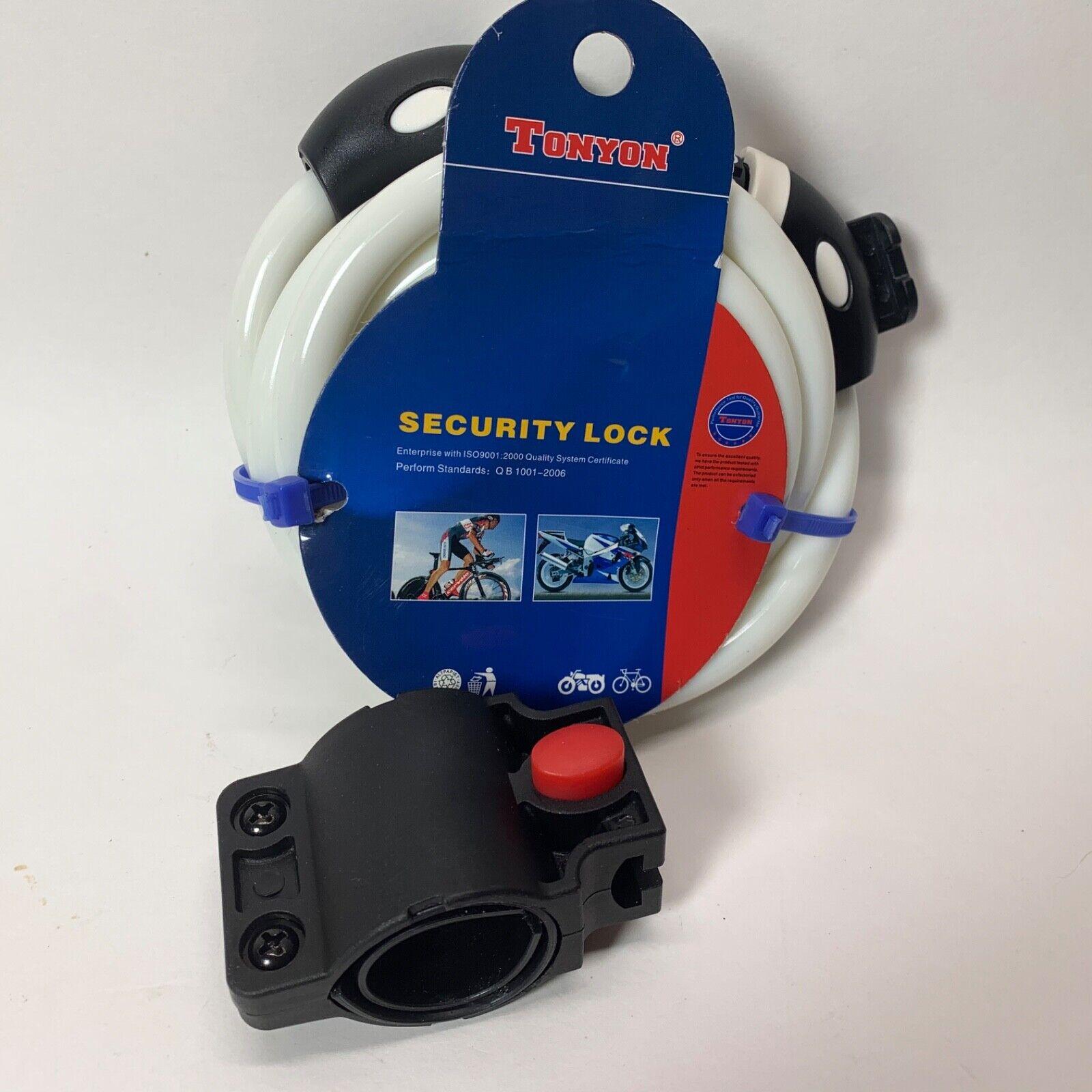 TONYON Bike Cable Lock 5-Digit Combination Password Anti-The
