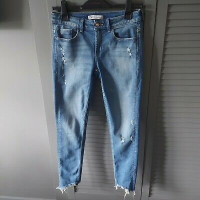 Zara Ripped Skinny Jeans 38 Size Small / Size 10