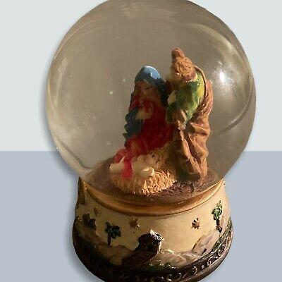 Nativity Glitter Snow Globe