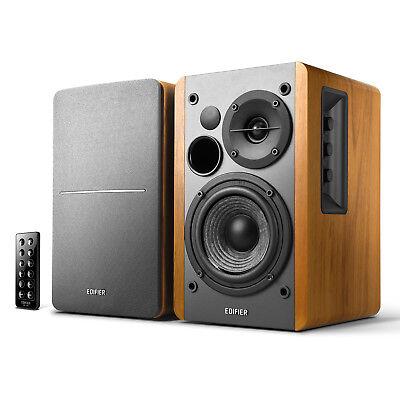 Edifier R1280DB Powered Bluetooth Bookshelf Speakers - Optic